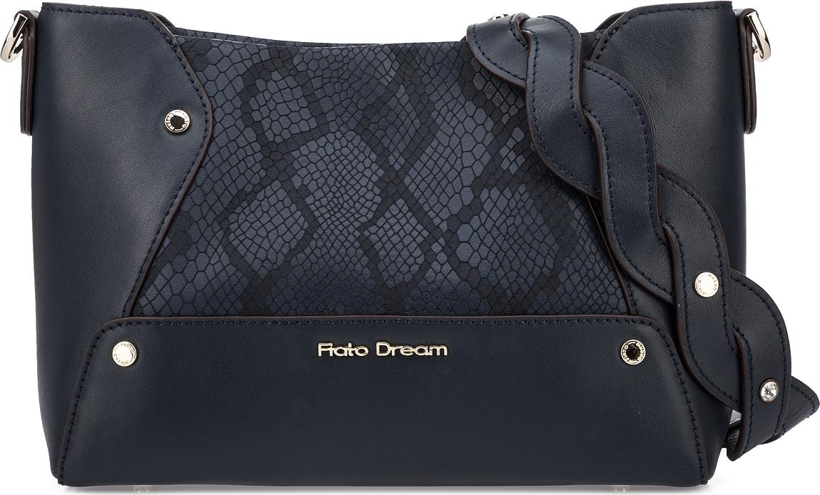 Сумка женская Fiato Dream, 1201, темно-синий сумка женская fiato dream 1138 латте
