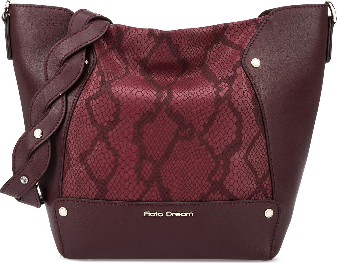 Сумка женская Fiato Dream, 1202, бордовый сумка женская fiato dream 1138 латте