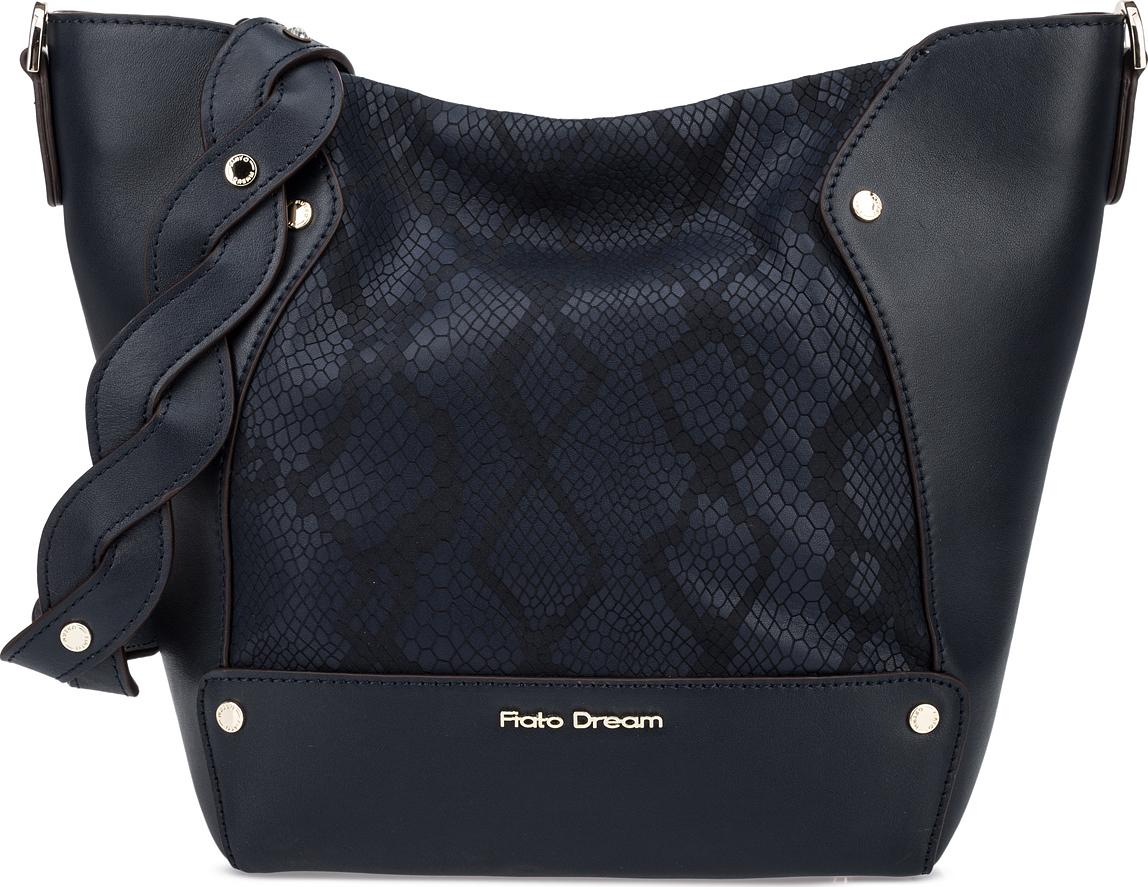 Сумка женская Fiato Dream, 1202, темно-синий сумка женская fiato dream 1138 латте