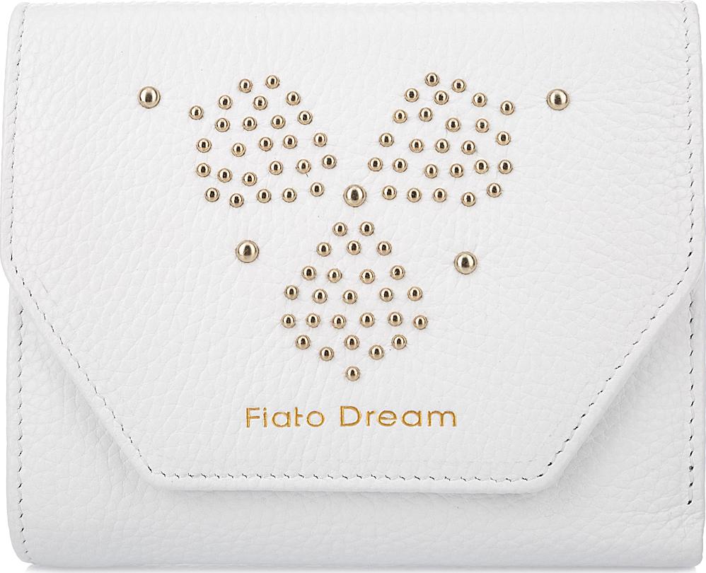 Кошелек женский Fiato Dream, п138, белый кошелек fiato