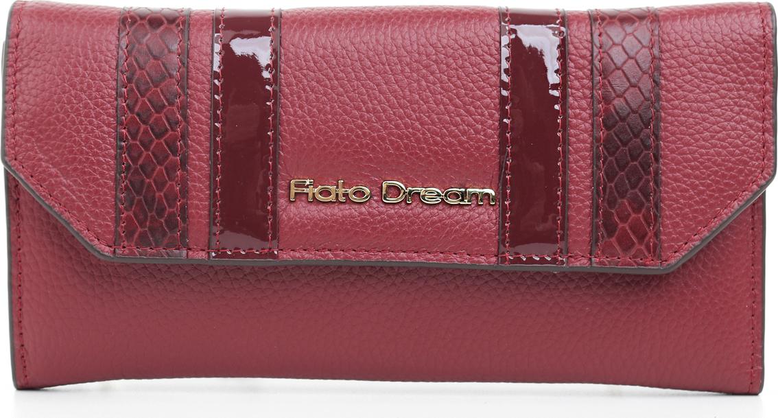 Кошелек женский Fiato Dream, п323, красный кошелек fiato