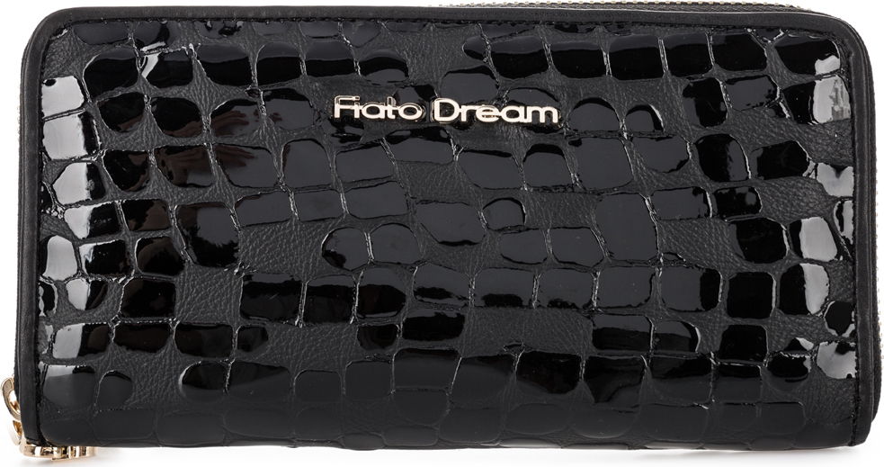Кошелек женский Fiato Dream, п324, черный кошелек fiato dream fiato dream fi031bwcyai2