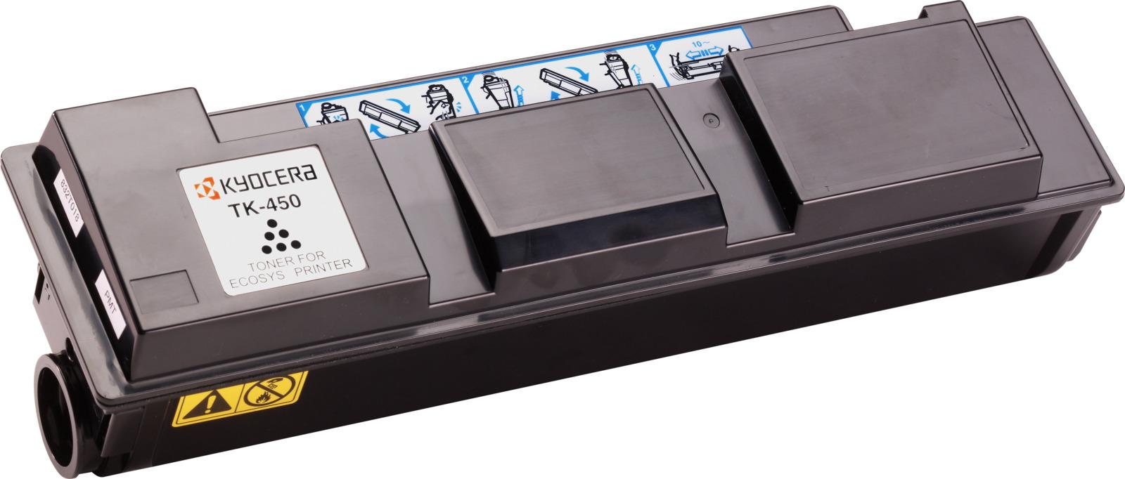 Картридж Kyocera TK-450, черный, для лазерного принтера