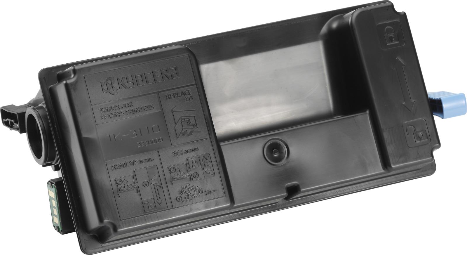Картридж Kyocera TK-3110, черный, для лазерного принтера