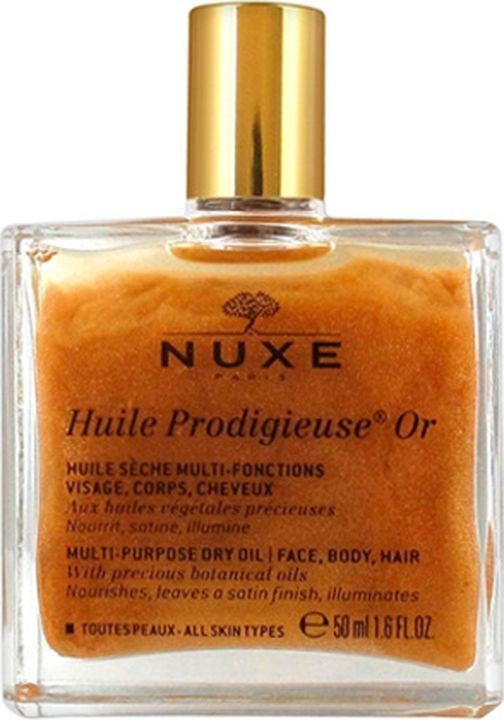 Масло для кожи Nuxe Prodigieuse Золотое Новая формула, для лица, тела и волос, 50 мл цены онлайн