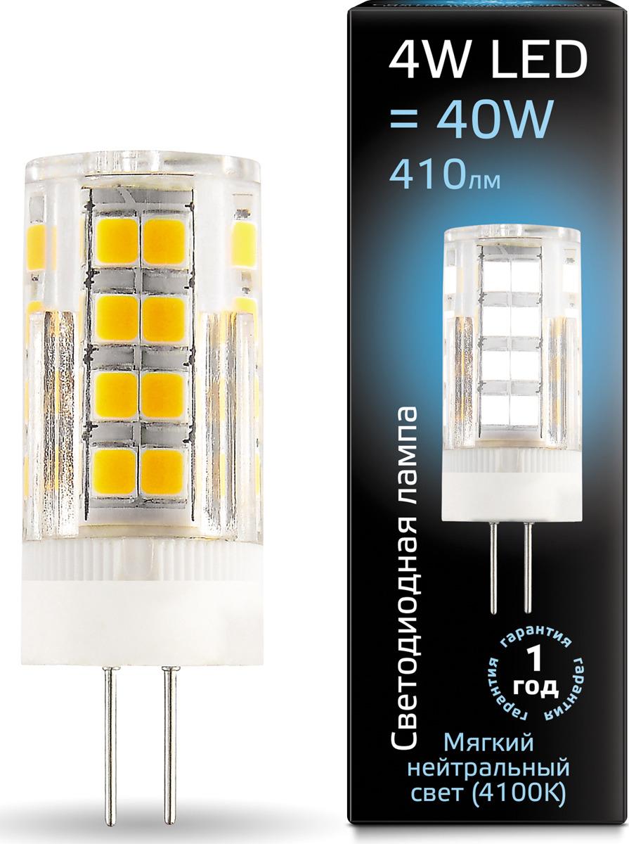 Лампочка Gauss Black LED, G4, 4W. 107307204 лампочка gauss led g4 gs 107307204