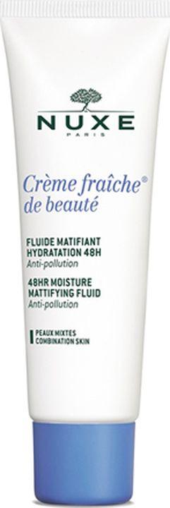 Эмульсия для ухода за кожей Nuxe Creme Fraiche de Beaute, увлажняющая, матирующая, 50 мл nuxe creme fraiche serum сыворотка увлажняющая 48ч 30 мл