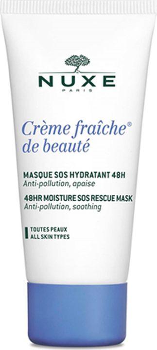 Маска косметическая Nuxe Creme Fraiche de Beaute, интенсивная, увлажняющая, 50 мл nuxe creme fraiche serum сыворотка увлажняющая 48ч 30 мл