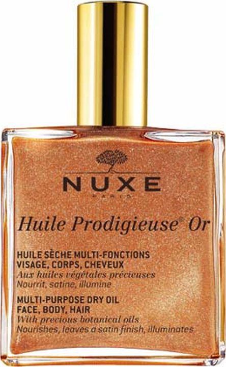 Масло для кожи Nuxe Prodigieuse Золотое Новая формула, для лица, тела и волос, 100 мл цены онлайн