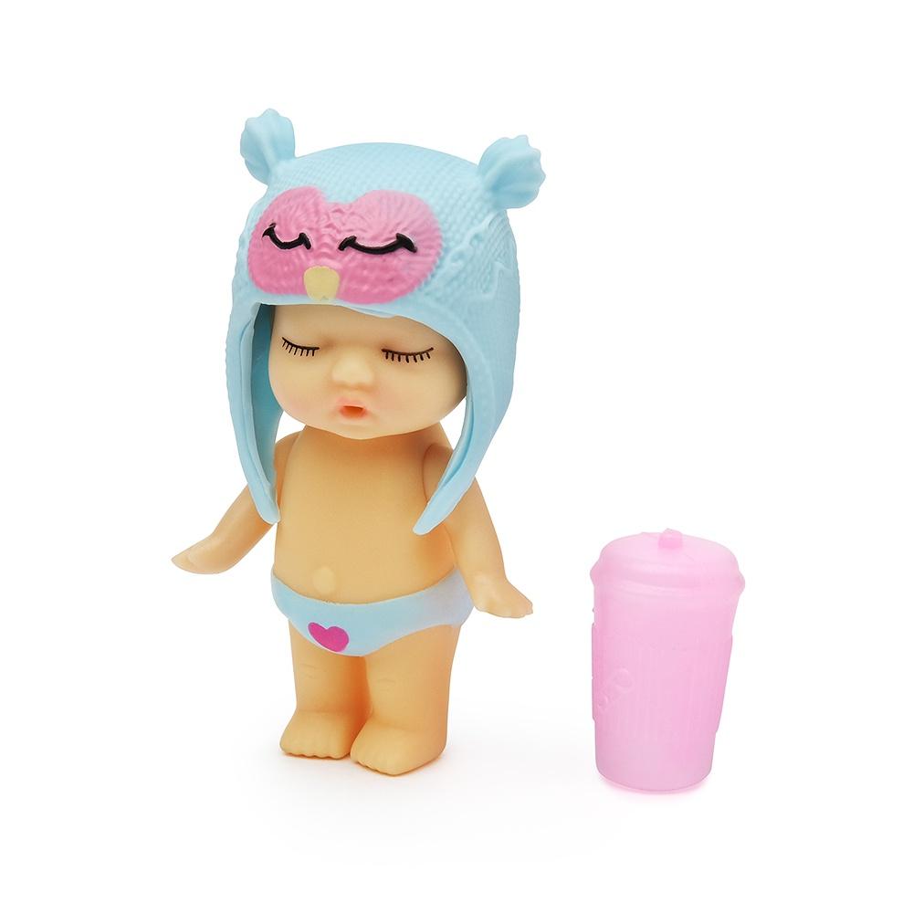 Игровой набор с куклой FindusToys Infant Doll, FD-35-008/12 голубой игровой набор с куклой findustoys infant doll fd 35 008 1 фиолетовый