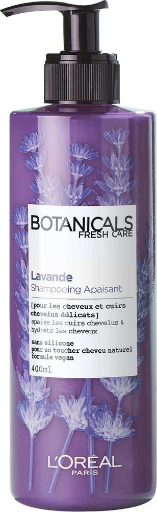 Шампунь для волос L'Oreal Paris Botanicals, Лаванда, для чувствительной кожи головы и тонких волос, 400 мл