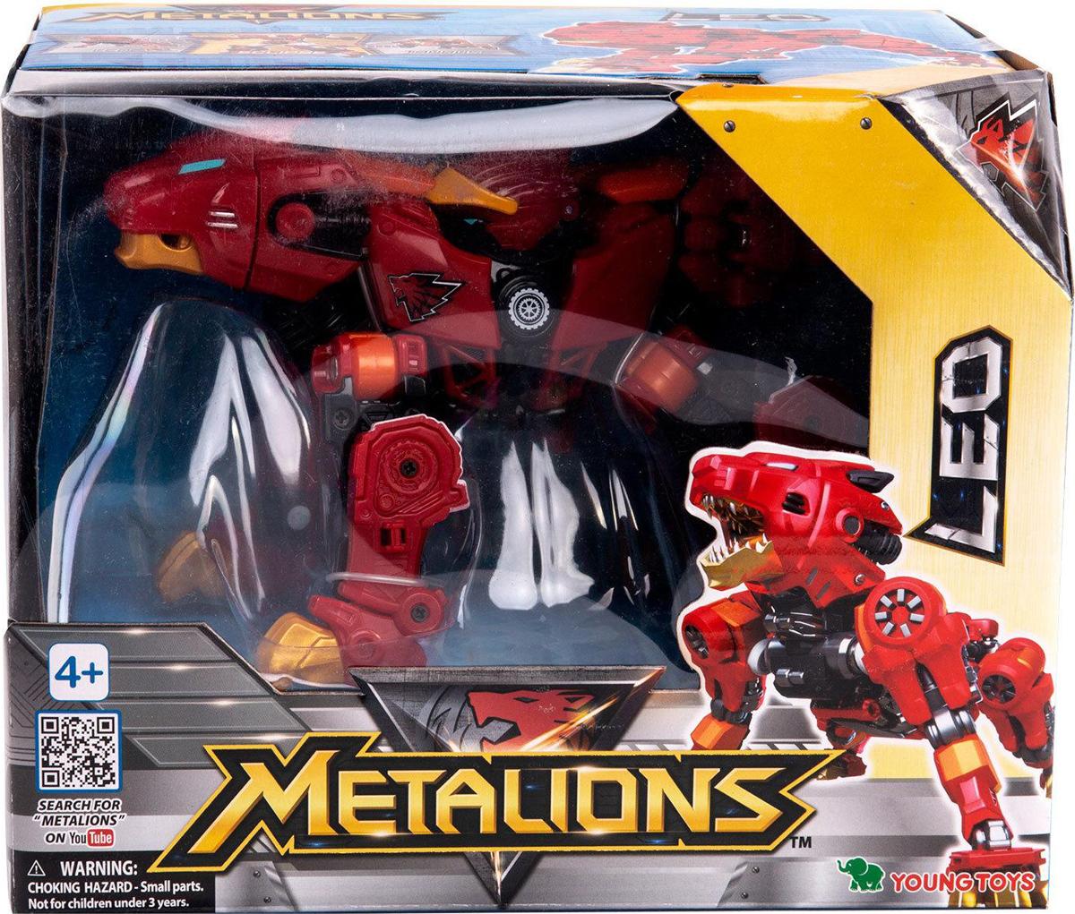 Трансформер Metalions Лео, 314028314028Металионс Лео–игрушка, выполненная по мотивам мультсериала Металионс. Данный герой-дружелюбный. Открытый всему новому, предводитель воинов-тяжелая артилерия.Игрушка развивает логическое мышление, а благодаря дополнительным элементам позволяет разнообразить любую игру. Трансформер изготовлен из ударопрочного пластика, все части имеют сглаженные углы и покрыты нетоксичными красителями. Устойчива и не падает на ровной поверхности.
