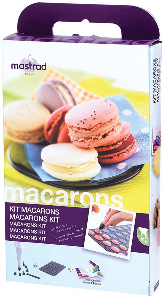 Набор для выпечки Mastrad, Л9214, для макарун, 9 предметов набор для выпечки макарун wow how