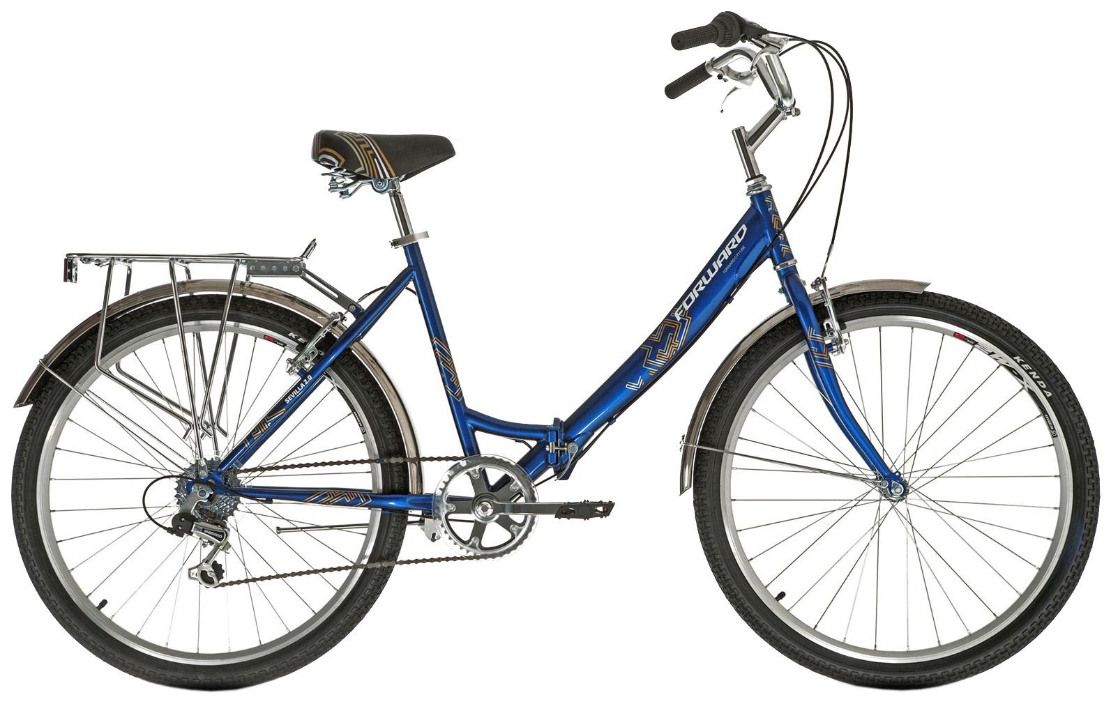 Складной Forward SEVILLA 26 2.0, RBKW9RF66002, синий недорго, оригинальная цена