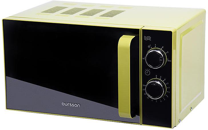 лучшая цена Микроволновая печь Oursson MM2005/GA, зеленый