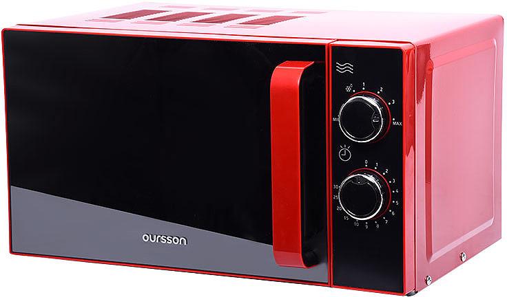 лучшая цена Микроволновая печь Oursson MM2005/RD, красный
