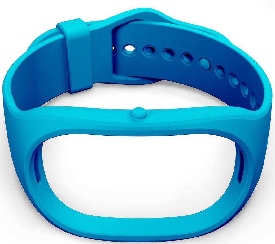 Ремешок для фитнес-браслета Healbe GoBe 2, голубой