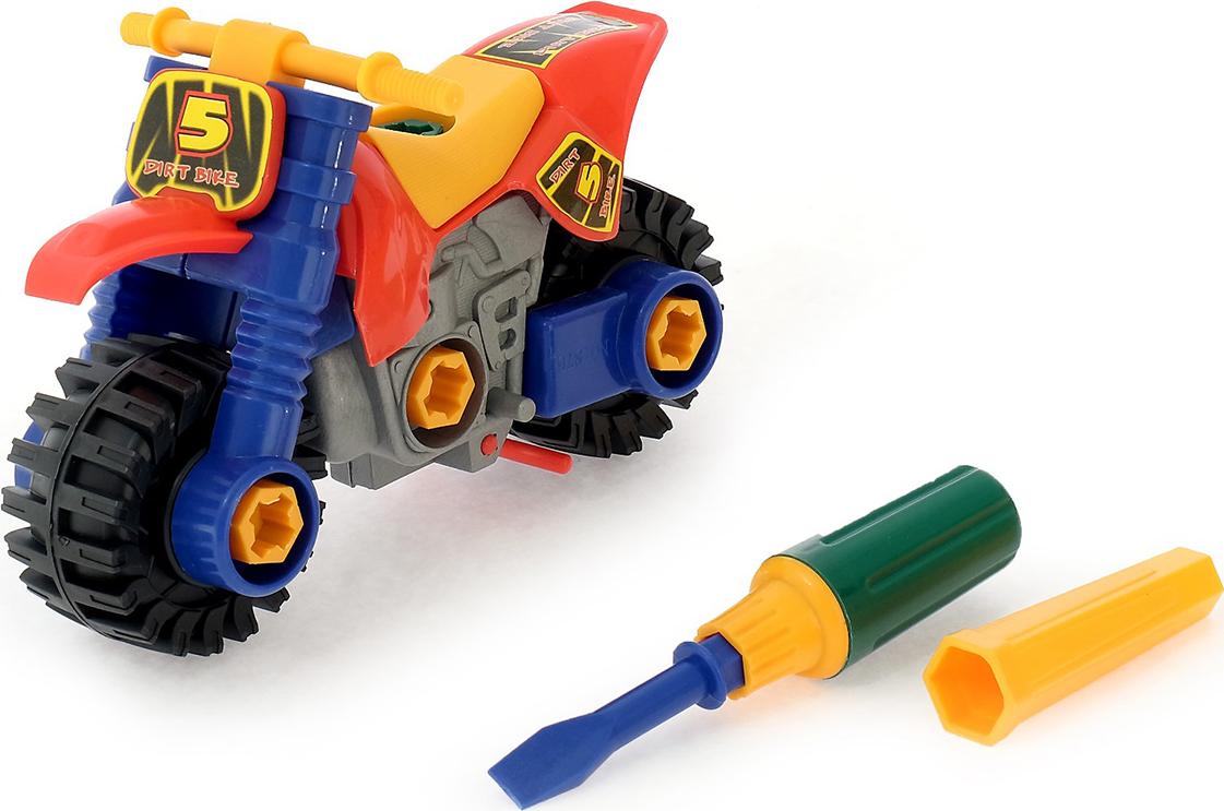 """Конструктор пластиковый """"Мотоцикл"""", 407349"""