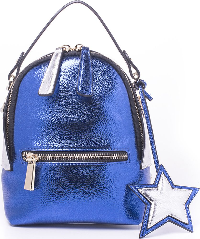 цена Рюкзак женский Baggini, 18047-2/42, синий онлайн в 2017 году