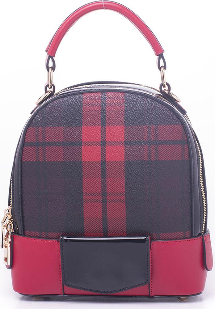 цена Рюкзак женский Baggini, 29951S/69, красный онлайн в 2017 году