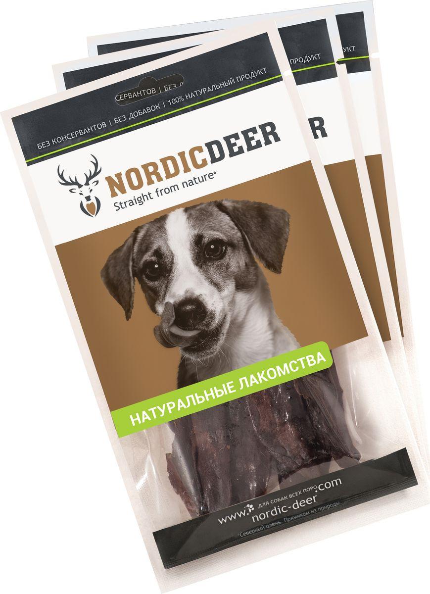 Лакомство для собак Nordic Deer Печень говяжья, 3 шт по 40 г лакомство для собак nordic deer печень говяжья 3 шт по 40 г