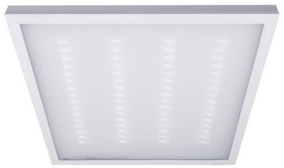 Потолочный светильник REV Slim Quadro, светодиодный, LED, 48 Вт панель светодиодная rev призма 36вт 6500к