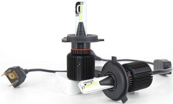 Комплект светодиодных автоламп LED OsnovaLed, H7, 20 Вт, 4000 К, 1600000110267, черный, 2 шт
