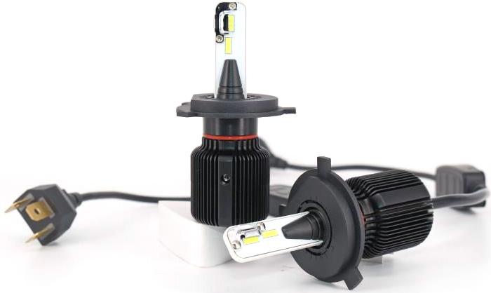 Комплект светодиодных автоламп LED OsnovaLed, H7, 20 Вт, 5000 К, 1600000110335, черный, 2 шт