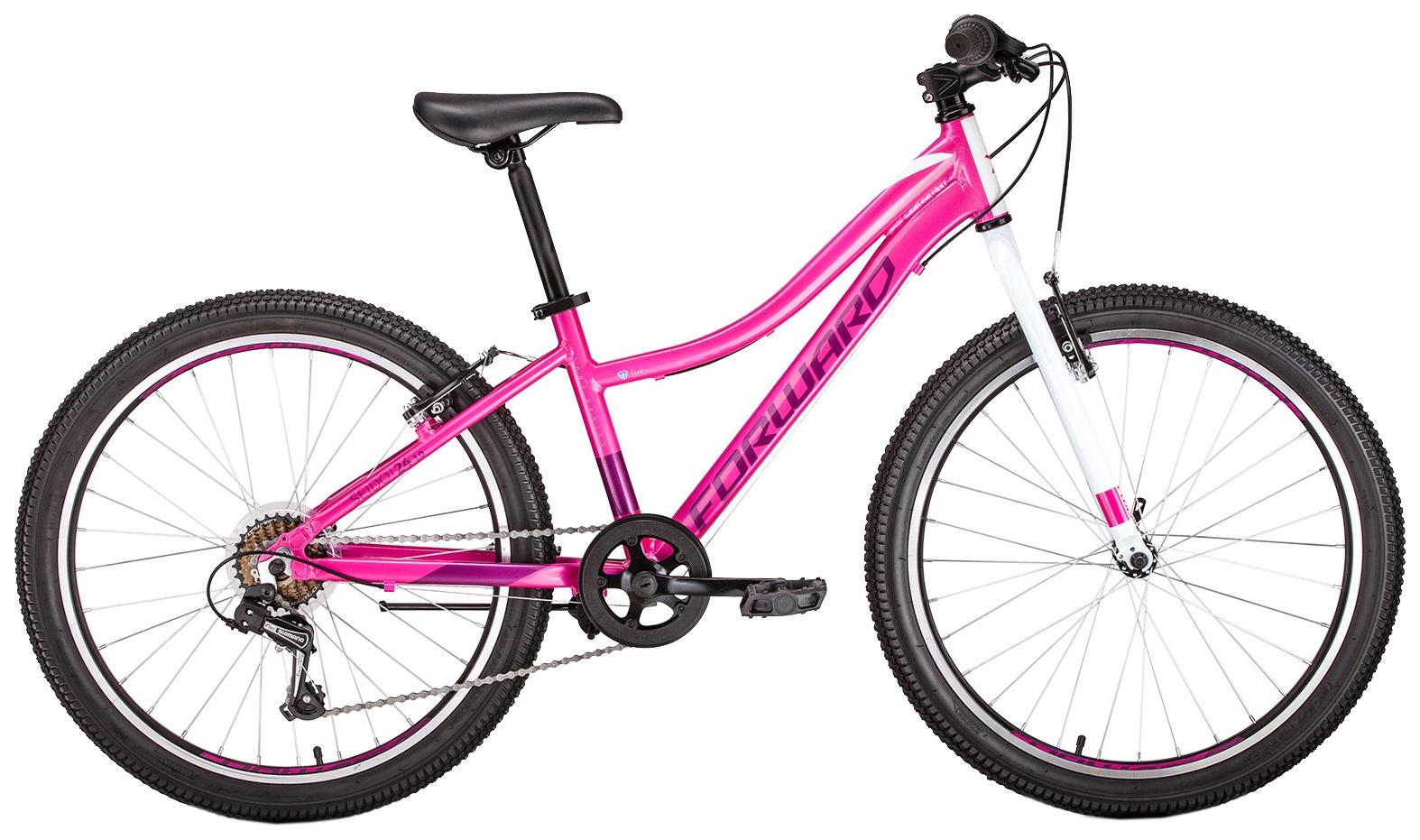 Велосипед Forward SEIDO 24 1.0, RBKW96647003, розовый