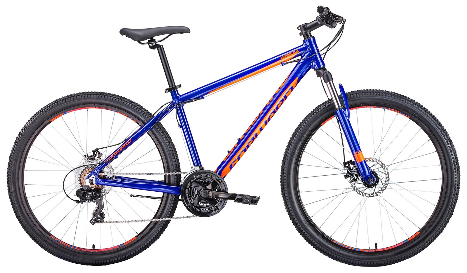 Горный (MTB) Forward Apache 27,5 2.0 disc, RBKW9M67Q018, синий