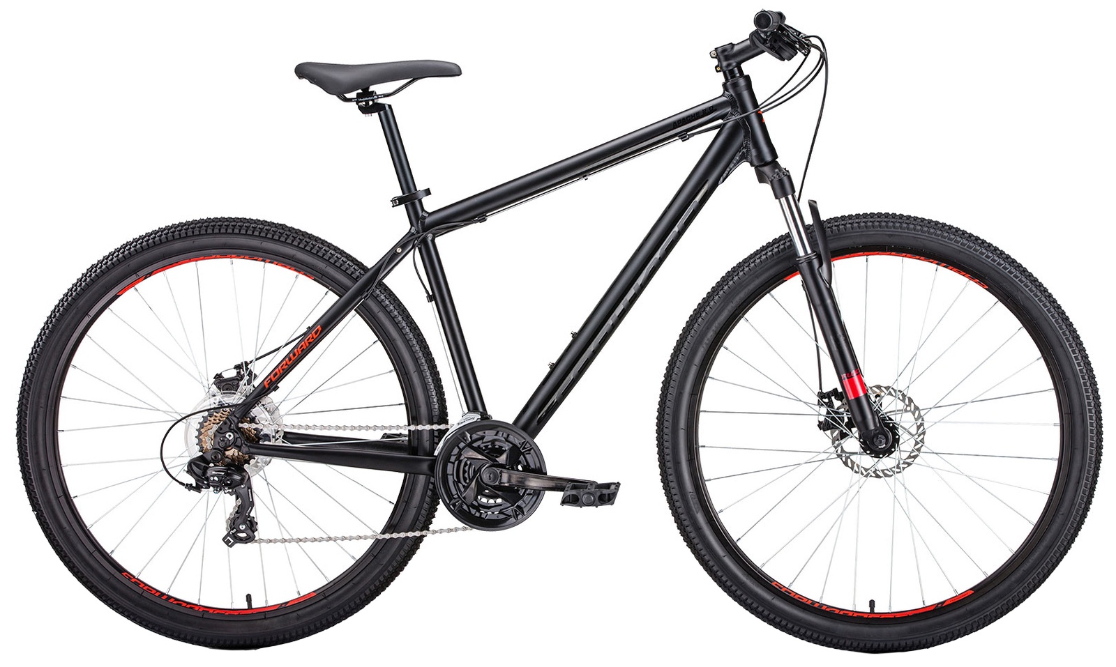Горный (MTB) Forward Apache 27,5 2.0 disc, RBKW9M67Q023, черный