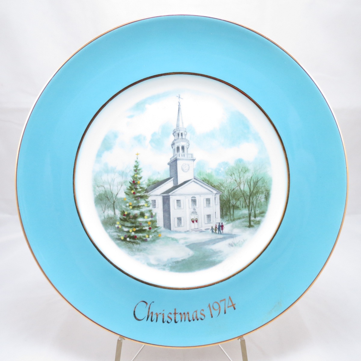Декоративная тарелка Avon Products, Inc. Рождественские Воспоминания Эйвон, 101337414 avon
