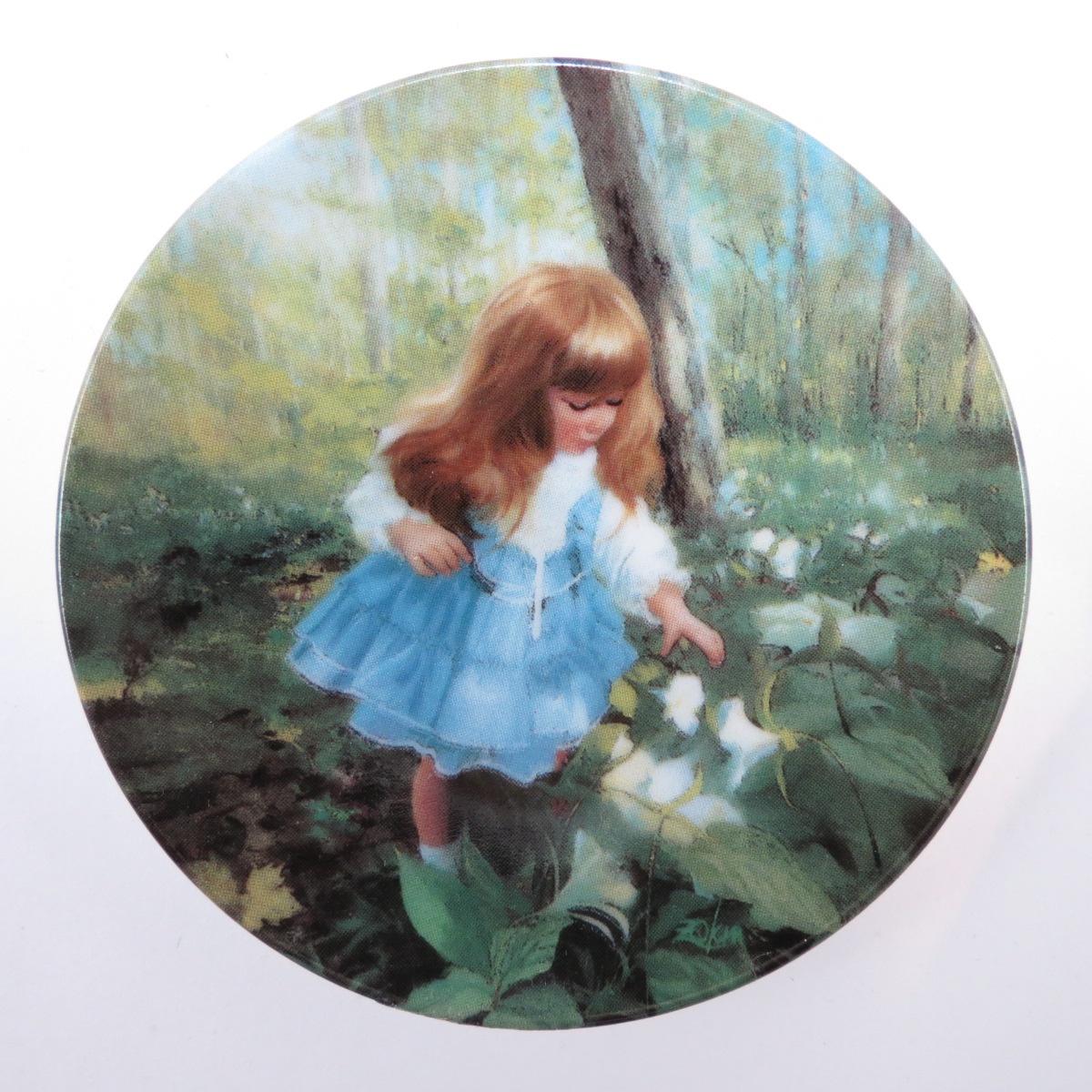Декоративная тарелка Pemberton & Oakes Любимый детский художник Америки, 91461009