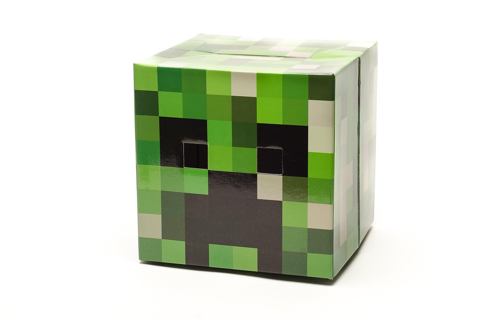 Доспехи игрушечные Maskbro Маска Крипера, 100-002 зеленый