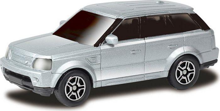 Машинка Uni-FortuneToys RMZ City Range Rover Sport, 1:64, 344009S-SIL, серебристый