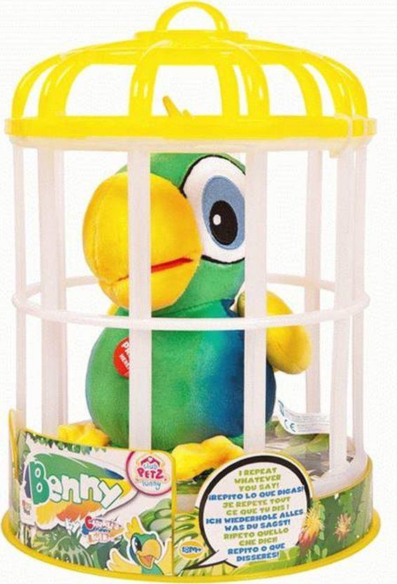 цена на Интерактивная игрушка IMC Toys Club Petz Funny Попугай Benny, 95021