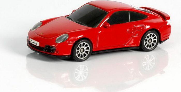 Машинка Uni-FortuneToys RMZ City Porsche 911 Turbo, 1:64, 344019S-RD, красный модель автомобиля 1 24 motormax porsche 911 turbo cabriolet