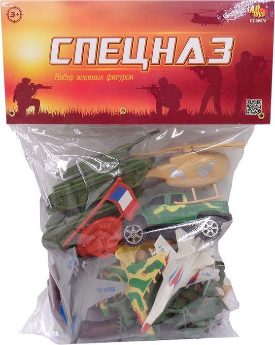 "Набор солдатиков ABtoys ""Спецназ"", PT-00576, 22 предмета"