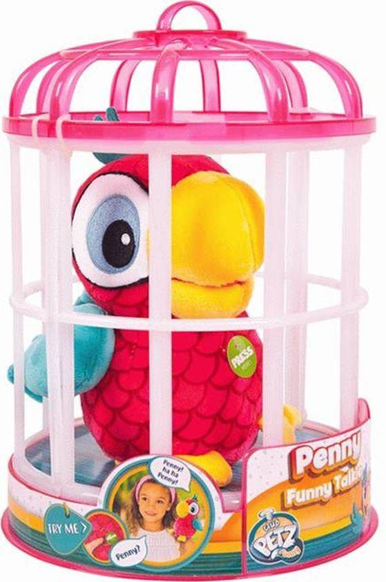 цена на Интерактивная игрушка IMC Toys Club Petz Funny Попугай Penny, 95038