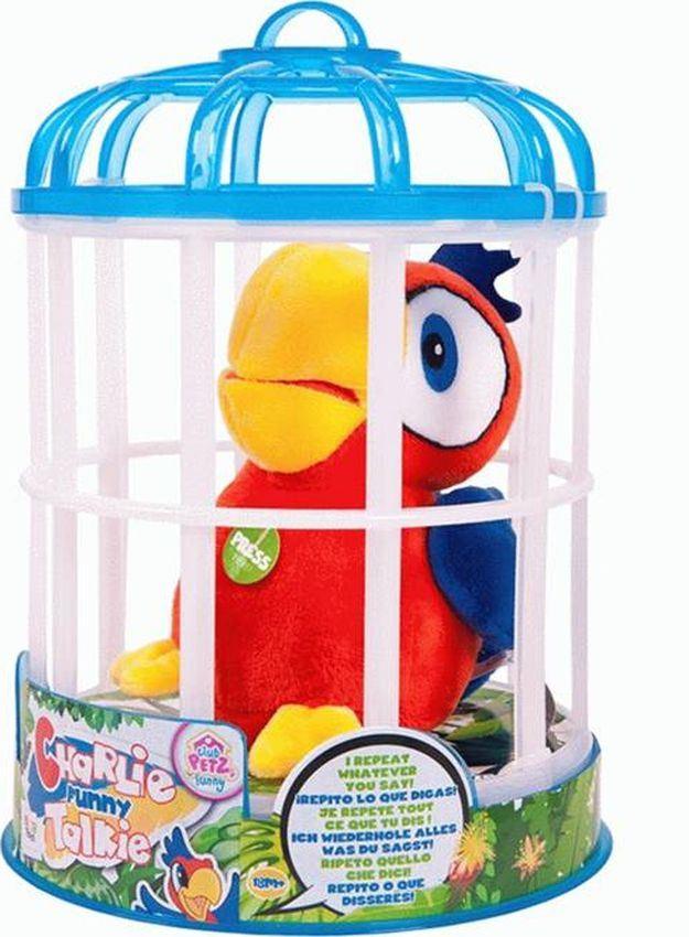 цена на Интерактивная игрушка IMC Toys Club Petz Funny Попугай Charlie, 94215
