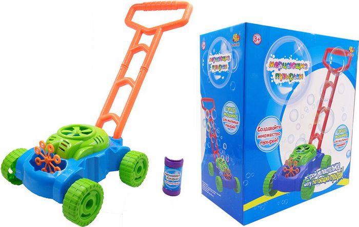 Мыльные пузыри ABtoys Мерцающие пузырьки + машина для пузырей, S-00148 мыльные пузыри abtoys мерцающие пузырьки машина для пузырей s 00148
