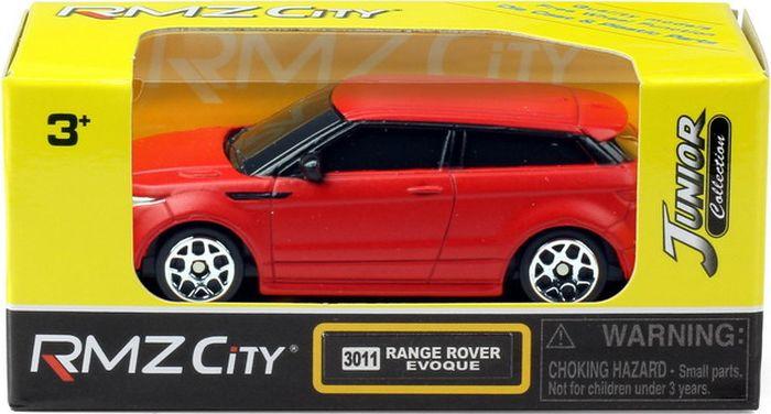Машинка Uni-FortuneToys RMZ City Range Rover Evoque, 1:64, 344011SM(A), красный