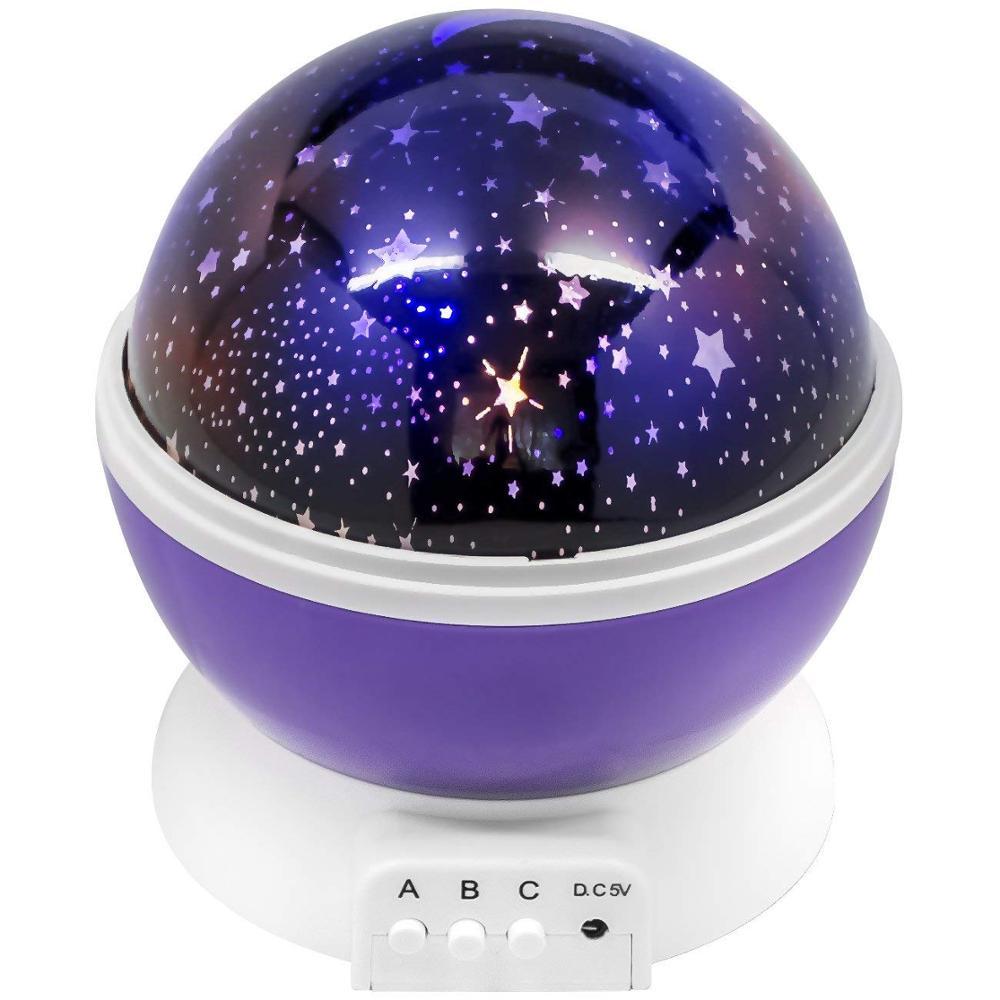 Декоративный светильник MARKETHOT ночник-проектор