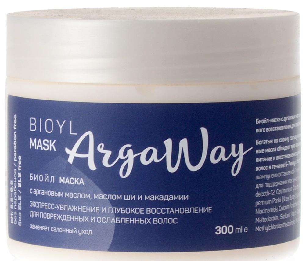 Маска для волос Argaway косметика, 0,33 шампунь для волос argaway косметика 330