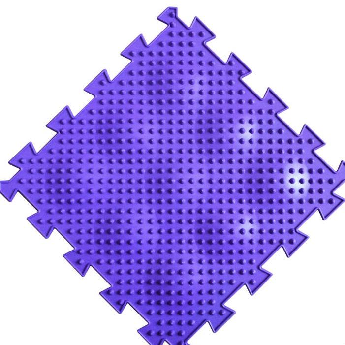Коврик-пазл Орто Пазл ёжики мягкие, ём(ф) фиолетовый