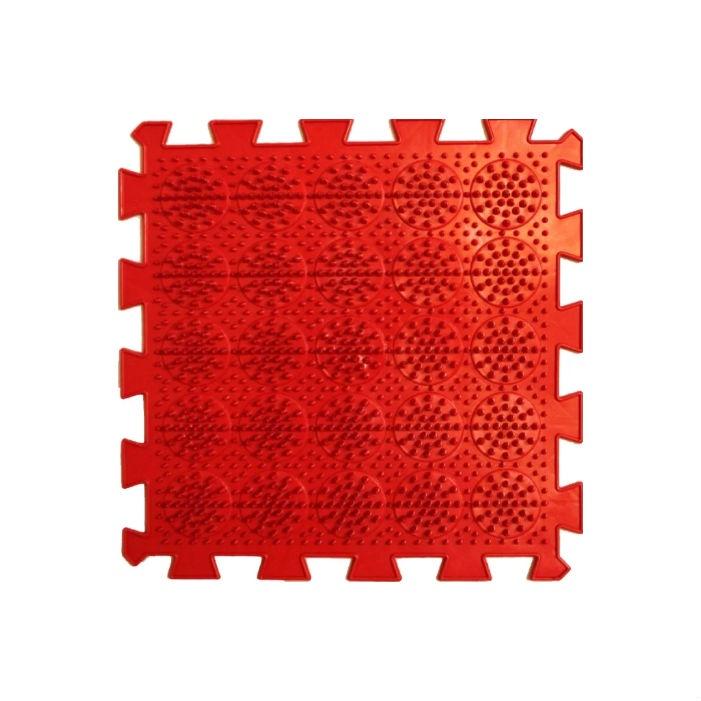 Коврик-пазл Орто Пазл кактусы жёсткие, кж(к) красный