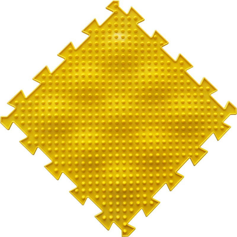 Коврик-пазл Орто Пазл ёжики жёсткие, ёж(ж) желтый