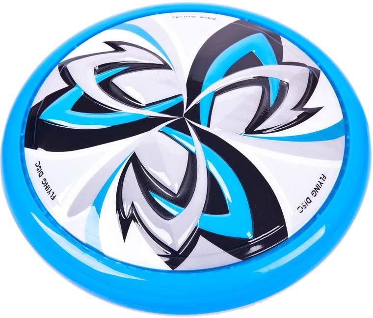 Летающая тарелка YG Sport, YG49J, синий, диаметр 25 см