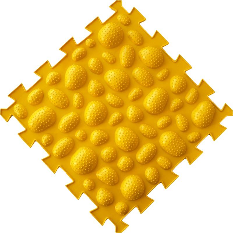 Коврик-пазл Орто Пазл морские камни жёсткие, мкж(ж) желтый