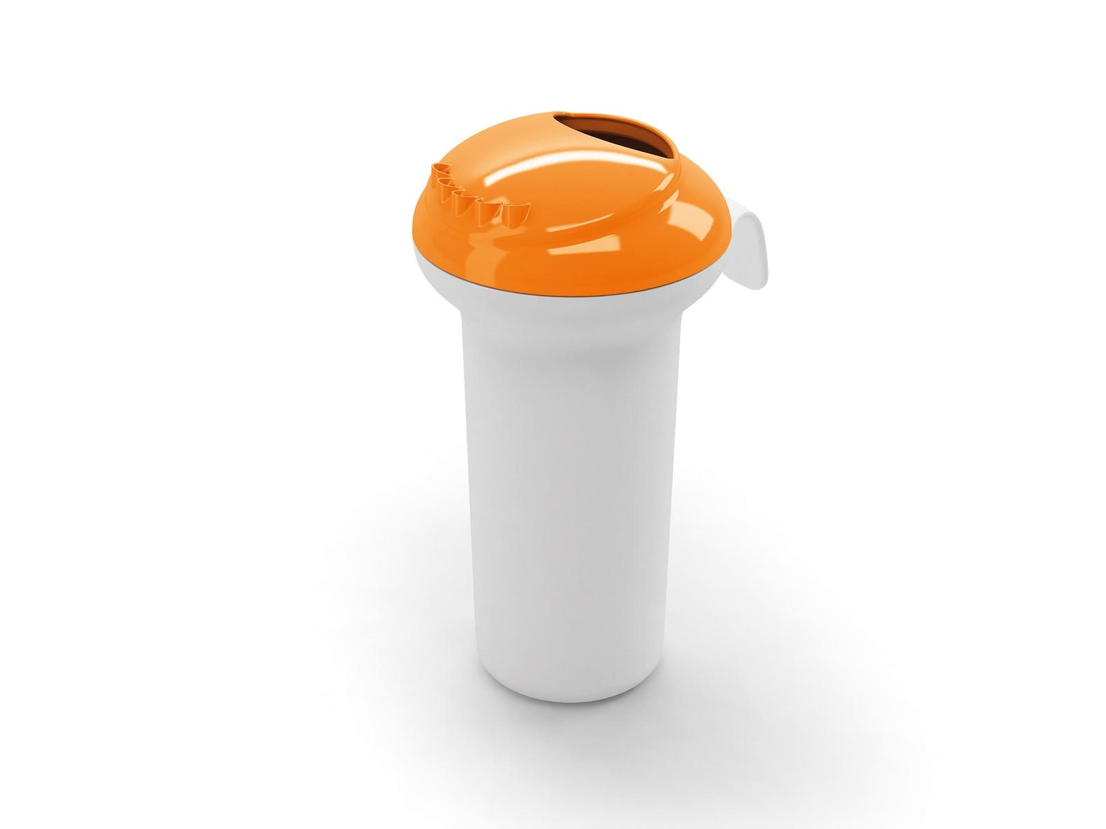 Ковш для бани OK BABY Splash, оранжевый ducka насадка на унитаз 785 оранжевый 45 ok baby